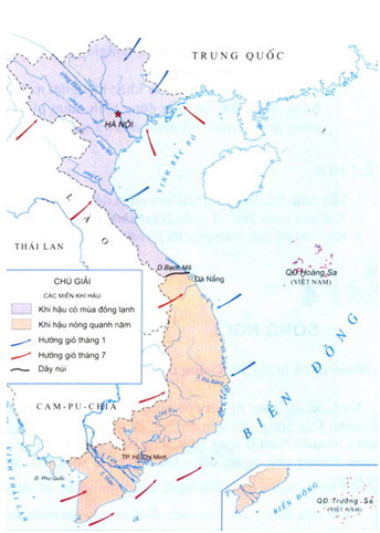 Các mùa gió ở Việt Nam