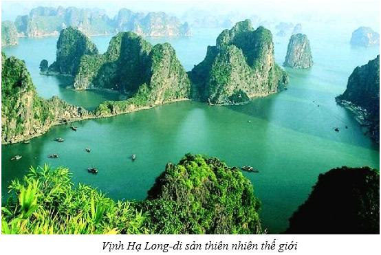 Vịnh Hạ Long- di sản thiên nhiên thế giới