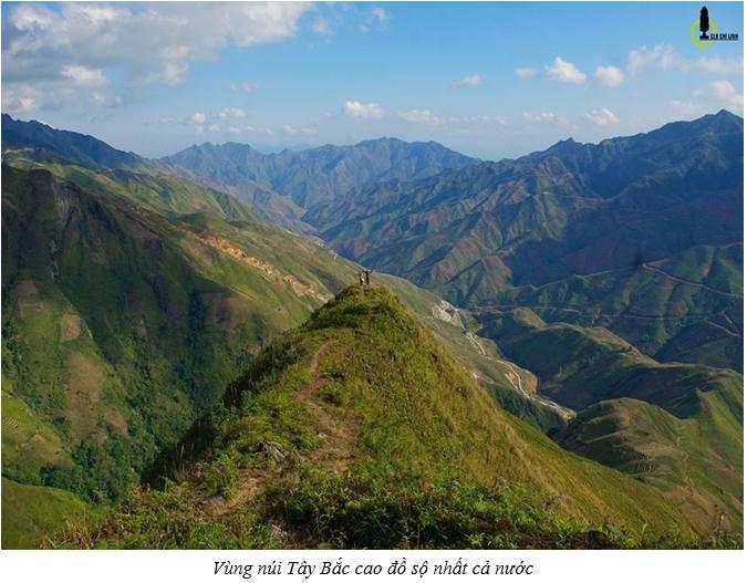 Vùng núi Tây Bắc cao đồ sộ nhất cả nước
