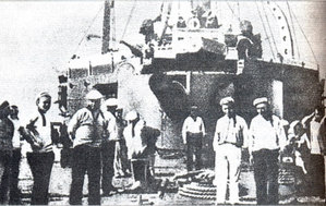 Hình 3: Thủy thủ trên tàu Pô-tem-kin