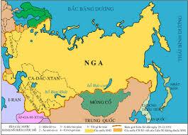 Lược đồ nước Nga