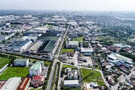 Một trung tâm công nghiệp ở TP. Hồ Chí Minh