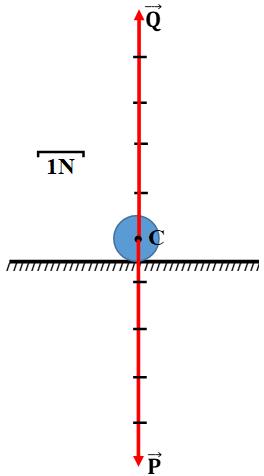 Biểu diễn các lực tác dụng lên quả bóng