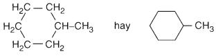 Hình 3: Metylxiclohexan