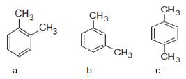 Đồng phân vị trí tương đối của các nhóm ankyl