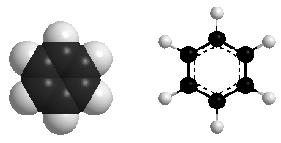 Hình 1: Mô hình benzen