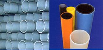 Hình 1: Ống PVC và ống PVC màu