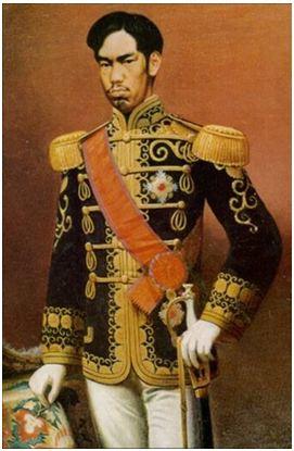 Hình 1: Thiên hoàng Minh Trị (1852- 1912)