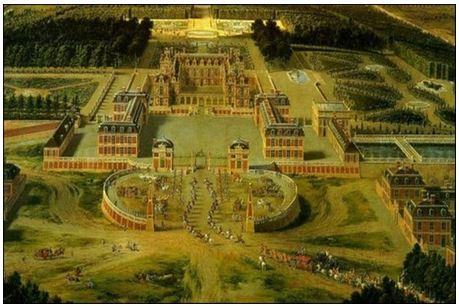 Hình 4: Cung điện Véc-xai