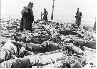 Hình 1: Những người lính Nga ngoài mặt trận (1/1917)
