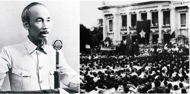 Hình 10: Chủ tịch Hồ Chí Minh đọc Tuyên ngôn Độc lập