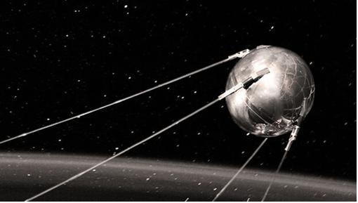 Hình 1: Vệ tinh nhân tạo đầu tiên của trái đất