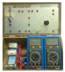 Bộ thí nghiệm dòng điện không đổi