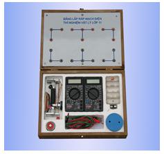 Bộ dụng cụ thí nghiệm dòng điện không đổi