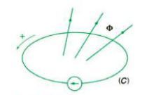 Suất  điện động cảm ứng trong 1 mạch kín
