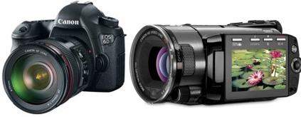 Máy ảnh, máy ghi hình (camera)