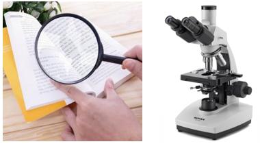 Kính lúp, kính hiển vi
