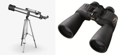 Kính thiên văn, ống nhòm