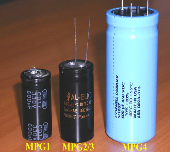 Các loại tụ điện