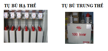 Lắp tụ bù ở các cơ sở tiêu thụ điện