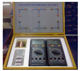 Bộ dụng cụ khảo sát đoạn mạch xoay chiều RLC