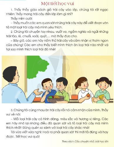 [Sách cánh diều] Soạn tiếng việt 2 tập 1 bài 7: Thầy cô của em