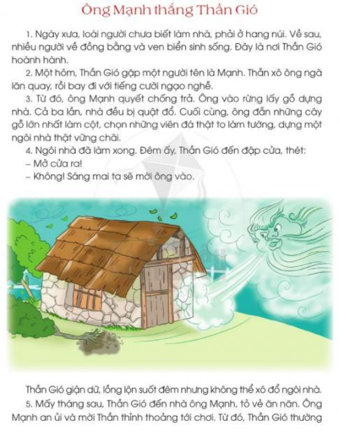 [Sách cánh diều] Soạn tiếng việt 2 tập 2 bài 29: Con người với thiên nhiên