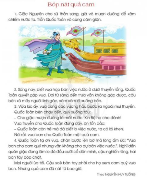 [Sách cánh diều] Soạn tiếng việt 2 tập 2 bài 34: Thiếu nhi đất Việt