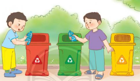 [Sách chân trời] Soạn tiếng việt 2 tập 2 bài 5: Bạn có biết phân loại rác?