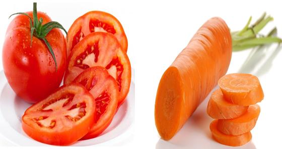 Mẫu vật thí nghiệm để chiết carotenoit
