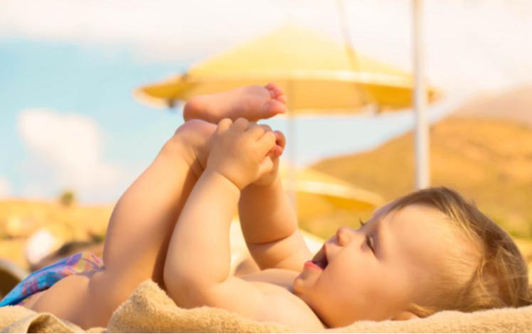 Tắm nắng vào sáng sớm bổ sung Vitamin D