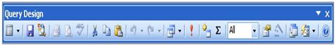 Hình 1: Thanh công cụ thiết kế mẫu hỏi