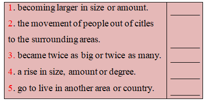 Unit 2 Urbanisation Reading