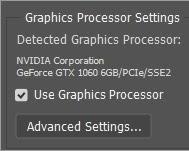 tinh chỉnh GPU setting