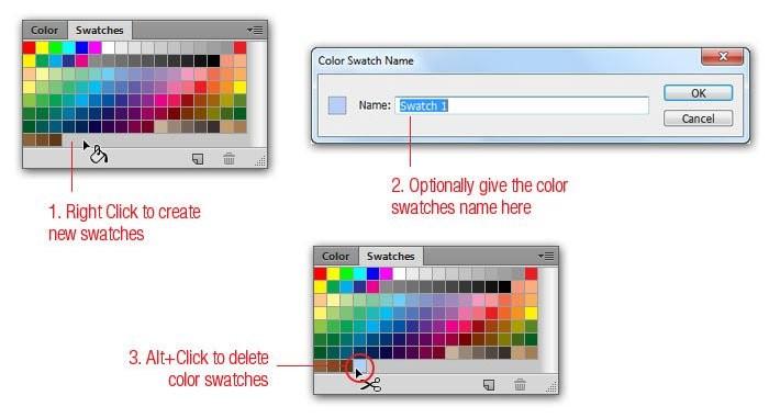 Cách để thêm màu sắc mới vào Swatch Palette nhanh chóng
