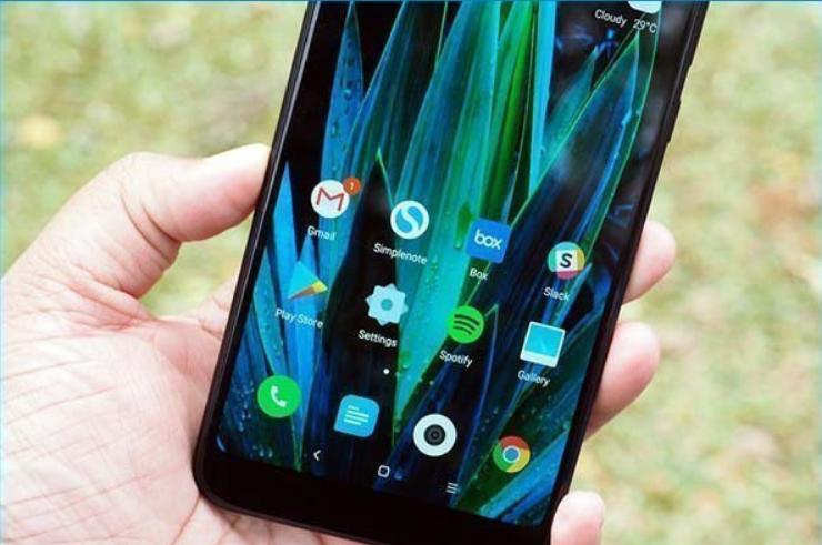 Chụp màn hình Xiaomi Redmi Note 5, Note 5 Pro với nút Power