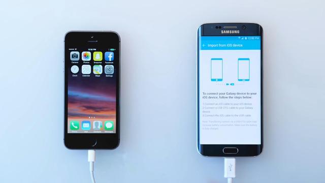 Chuyển nhanh dữ liệu từ iOS, Android