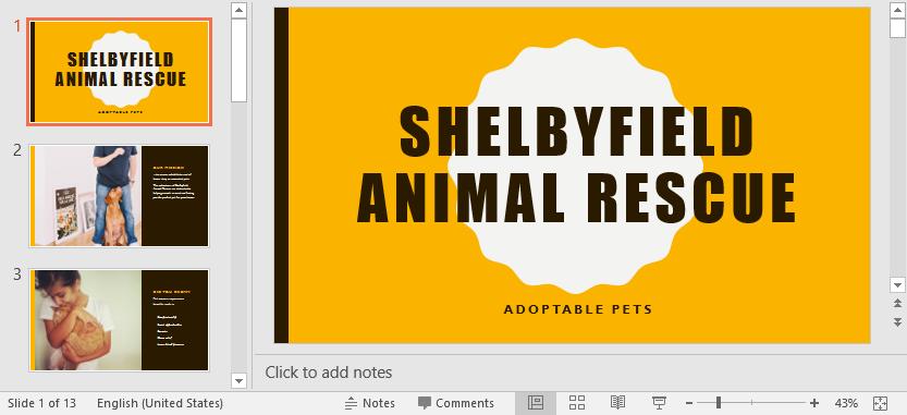 Chế độ xem Slide trong PowerPoint