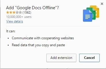 Truy cập ngoại tuyến Google