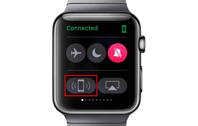 Tìm iPhone với iWatch