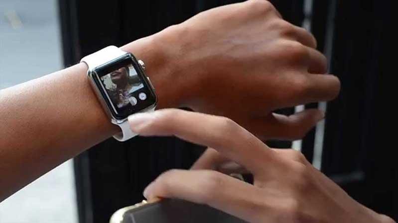 Cách chụp hình với Apple Watch