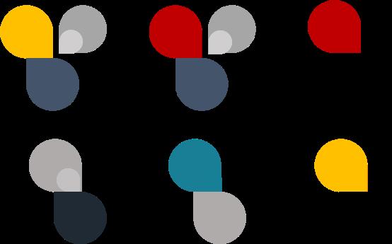 Phối màu hài hòa khi thiết kế cv bằng powerpoint