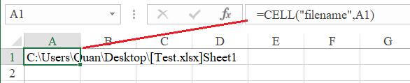 Lấy tên workbook và tách tên Sheet
