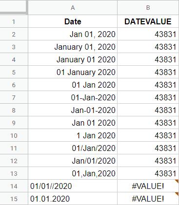 Sử dụng hàm Datevlua
