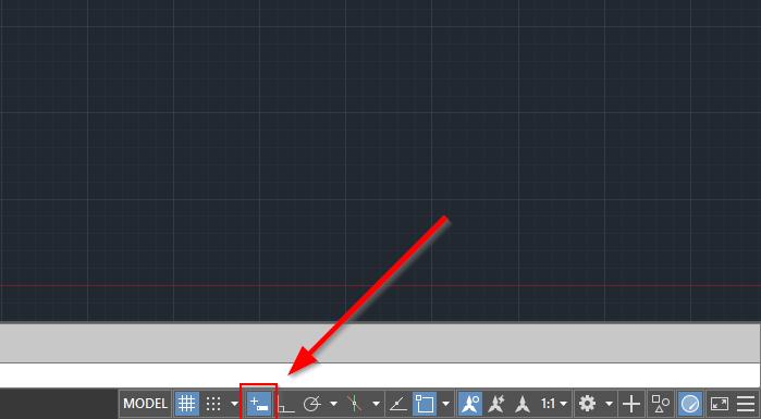 Tắt Dynamic Input đối với AutoCAD phiên bản mới hơn