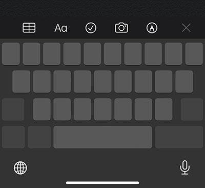"""""""Biến"""" bàn phím thành trackpad"""