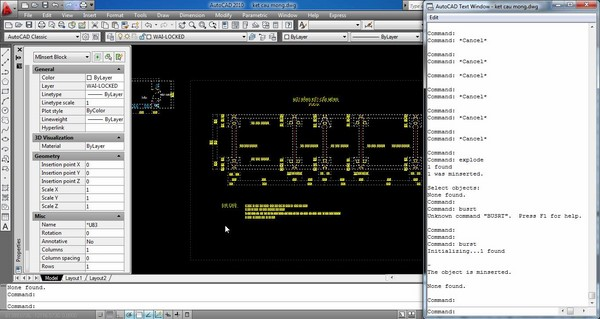 Lệnh Group trong AutoCad