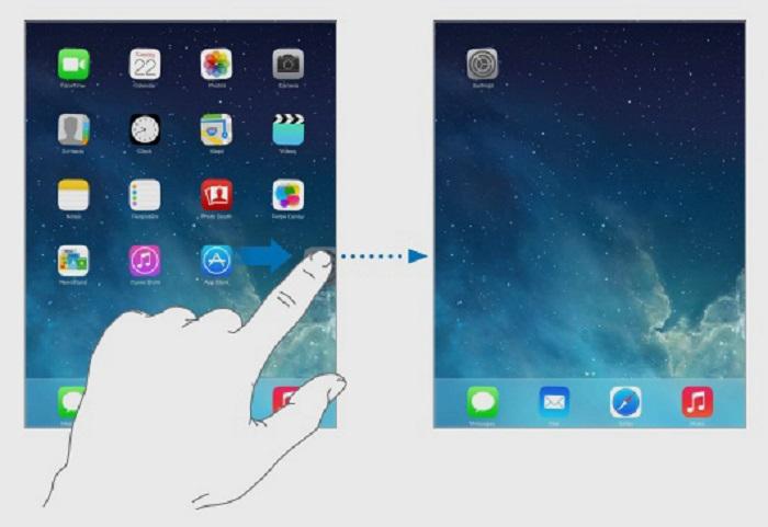 Màn hình chính iPad