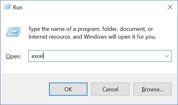 Mở Microsoft Excel