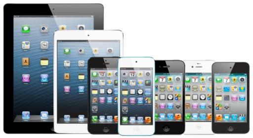 Giao diện mặc định của iOS